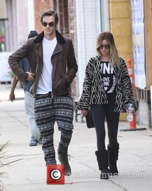 American actress and singer Ashley Tisdale was spotted out and about with her husband, Christopher French both of whom were...