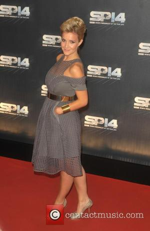 Helen Skelton - Photographs from the red carpet at the BBC Sports Personality Of The Year Award 2014 an annual...