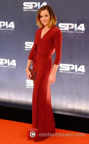 Victoria Pendleton - Photographs from the red carpet at the BBC Sports Personality Of The Year Award 2014 an annual...