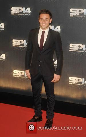 Tom Daley - Photographs from the red carpet at the BBC Sports Personality Of The Year Award 2014 an annual...