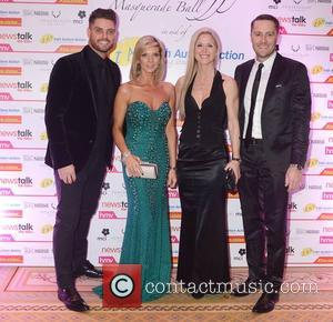 Keith Duffy, Lisa Duffy, Mairead Barry and Keith Barry