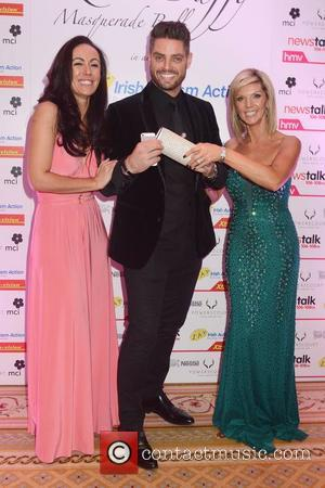 Tiffany Mulroy, Keith Duffy and Lisa Duffy