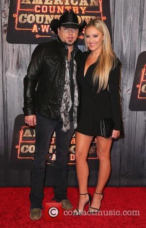 Jason Aldean and Brittany Kerr - Shots of a host of celebrities as they took to the red carpet for...