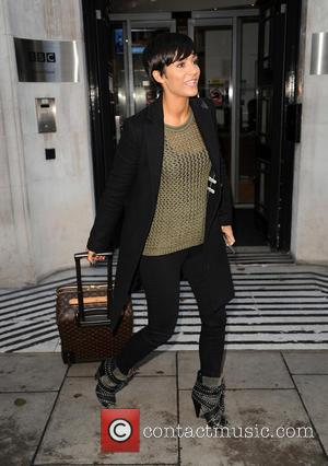 Frankie Bridge - Frankie Bridge at the BBC Radio studios - London, United Kingdom - Monday 15th December 2014