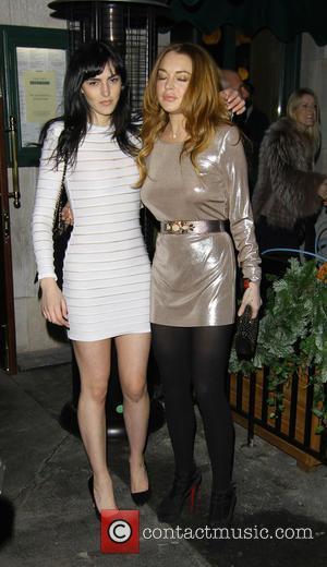 Lindsay Lohan and Sister Ali Lohan