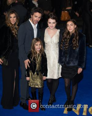 Shawn Levy, Serena Levy, Sophie Levy, Tess Levy and Friend