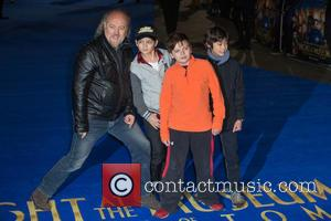 Bill Bailey - The European premiere of 'Night at the Museum: Secret of the Tomb'  held at the Empire...