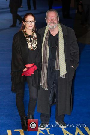 Terry Gilliam and Maggie Weston - The European premiere of 'Night at the Museum: Secret of the Tomb'  held...