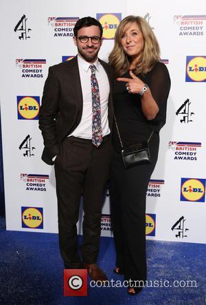 Tracy-ann Oberman and Simon Bird
