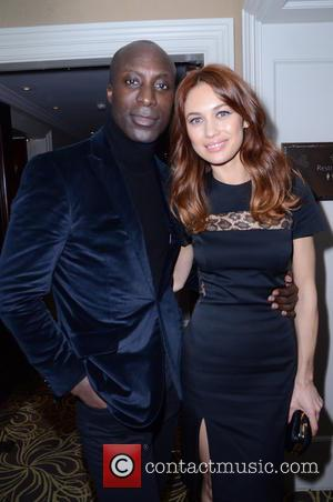 Ozwald Boateng and Olga Kurylenko