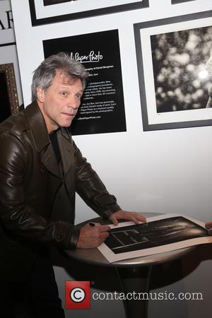 Jon Bon Jovi - Bon Jovi's official tour photographer David Bergman opens up photographic exhibition promoting his book