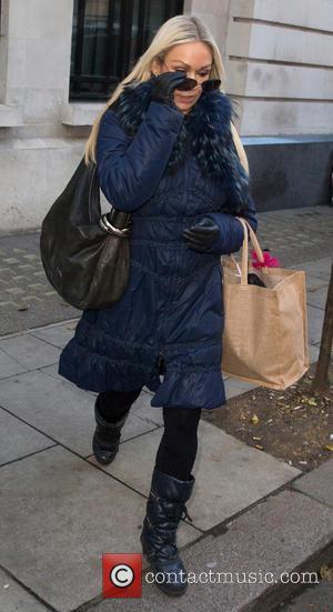 Kristina Rihanoff - Celebrities at BBC Radio 2 at BBC Portland Place - London, United Kingdom - Tuesday 16th December...