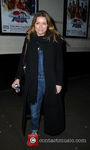 Alison King - Celebrities arrive at The Manchester Opera House for  'Snow White and the Seven Dwarfs' starring Priscilla...