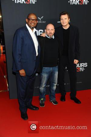 Forest Whitaker, Olivier Megaton and Liam Neeson