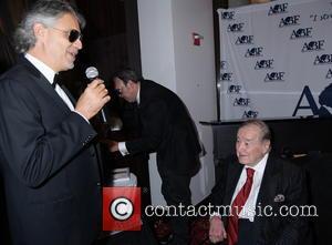 Sirio Maccioni and Andrea Bocelli