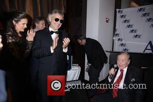 Veronica Berti, Andrea Bocelli and Sirio Maccioni