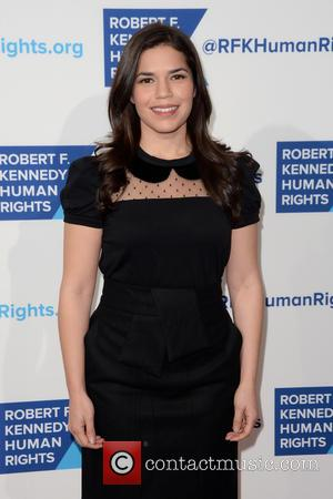 America Ferrera - Shots of a variety of stars as they arrived at the Robert F Kennedy Ripple Of Hope...