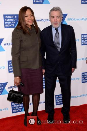 Grace Hightower, Robert De Niro and David Dinkins - Shots of a variety of stars as they arrived at the...