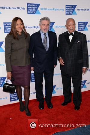 Grace Hightower, Robert De Niro and David Dinkins