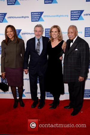 Grace Hightower, Robert De Niro, Kerry Kennedy and David Dinkins
