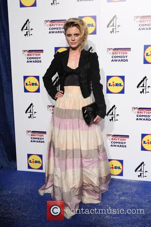 Emilia Fox - The British Comedy Awards 2014 - Arrivals - London, United Kingdom - Tuesday 16th December 2014