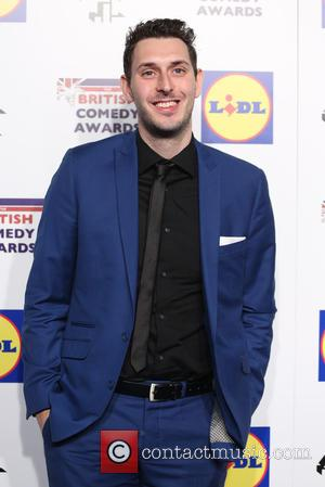 Blake Harrison - The British Comedy Awards 2014 - Arrivals - London, United Kingdom - Tuesday 16th December 2014
