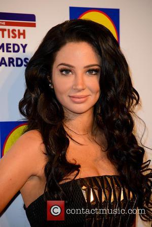 Tulisa Contostavlos - The British Comedy Awards 2014 at Fountain Studios - Arrivals - London - Tuesday 16th December 2014