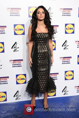 Tulisa Contostavlos - Photographs of a variety of British stars from the comedy scene as they arrive at the British...