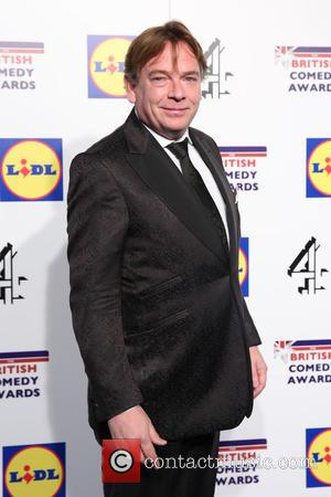 Adam Woodyatt - Photographs of a variety of British stars from the comedy scene as they arrive at the British...
