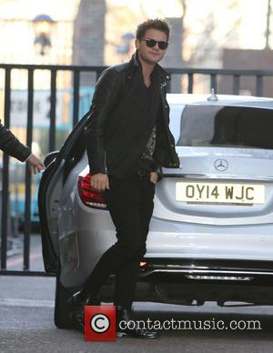 Jeremy Irvine - Guests outside ITV Studios today - London, United Kingdom - Tuesday 16th December 2014