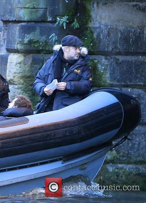 Sam Mendes - Filming of the new James Bond movie 'Spectre' at a location in Central London - London, United...