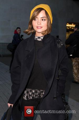 Jenna Coleman - Celebrities at BBC Radio 1 at BBC Portland Place - London, United Kingdom - Tuesday 16th December...