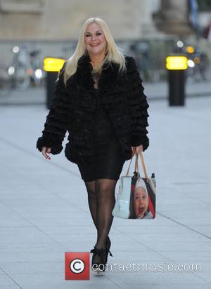 Vanessa Feltz - Vanessa Feltz arriving at the BBC Radio studios - London, United Kingdom - Tuesday 16th December 2014