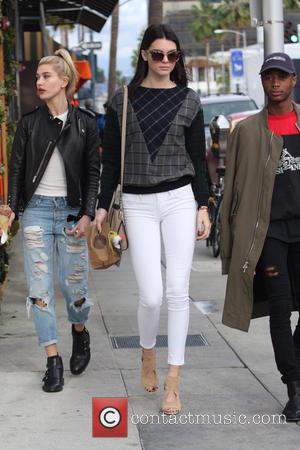 Kendall Jenner, Hailey Baldwin and Shamari Maurice