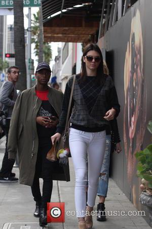 Kendall Jenner and Shamari Maurice