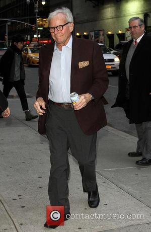 Tom Brokaw - Celebrities outside the Ed Sullivan Theater for 'Late Show with David Letterman' at Ed Sullivan Theater -...