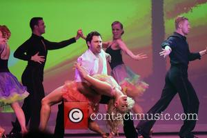 Maksim Chmerkovskiy and and Peta Murgatroyd - dances with Olympic gold medalist Meryl Davis and other in SWAY at The...