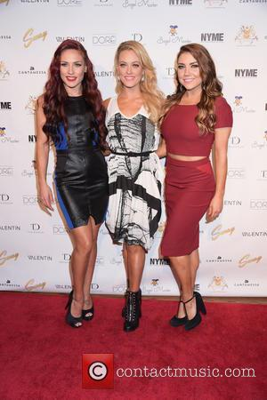 Sharna Burgess, Peta Murgatroyd and Jenna Johnson