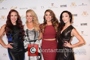 Sharna Burgess, Peta Murgatroyd, Jenna Johnson and Meryl Davis