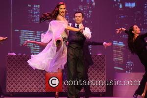 Sharna Burgess and Tony Dovoloni - dances with Olympic gold medalist Meryl Davis and other in SWAY at The Space...