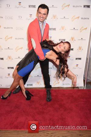 Sharna Burgess and Tony Dovoloni
