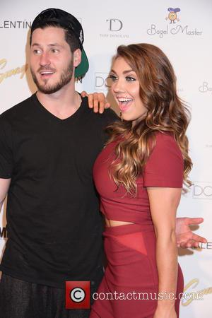 Valentin Chmerkovskiy and Jenna Burgess