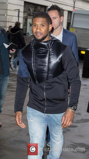 Usher Posts Instagram Pic Of Red Eye, Jokes About Fighting Amidst Rumours Of NYE Fight To Defend Girlfriend
