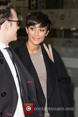 Frankie Sandford, Frankie Bridge and Kevin Clifton - Celebrities at the BBC Radio 1 studios at BBC Portland Place -...