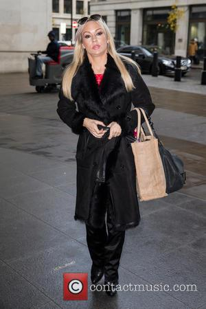 Kristina Rihanoff - Celebrities at the BBC Radio 1 studios at BBC Portland Place - London, United Kingdom - Wednesday...