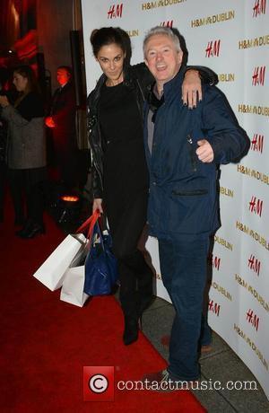 Glenda Gilson and Louis Walsh