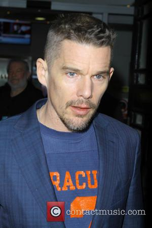 Ethan Hawke - Celebrities at the BBC Radio 2 studios - London, United Kingdom - Thursday 18th December 2014