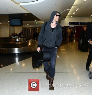 British actor Tom Hiddleston known for playing the role of Loki in the Thor films was spotted as he arrived...