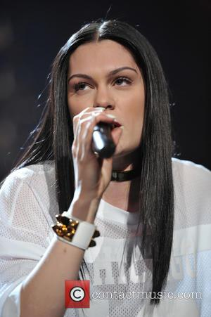 Jessie J - Shots of a variety of pop stars as they performed live at 103.5 KISS FM's Jingle Ball...