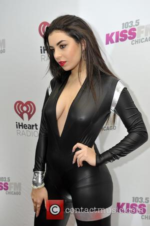 Charli XCX - Photographs of a host of pop stars as they arrived at 103.5 KISS FM's Jingle Ball which...